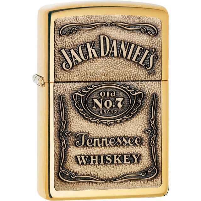 Zippo® Jack Daniel-s® High Polish Brass Lighter