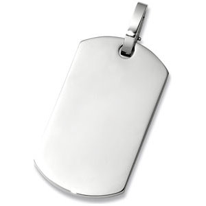 Stainless Steel Dog Tag Only