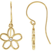 Flower Dangle Earring
