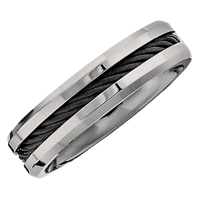 Titanium 6mm Band Size 6