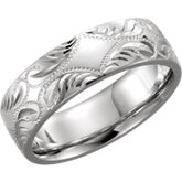 Hand-Engraved 5.75mm Band