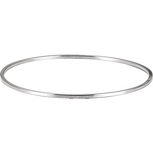 Sterling Silver 1.75mm Bangle Bracelet