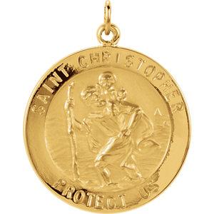 St. Christopher Medal