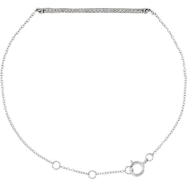 14K White 1/6 CTW Diamond 6-8