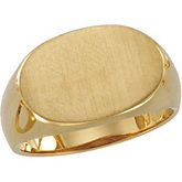 Men's Signet Ring