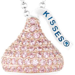 Sterling Silver October<br> HERSHEYS KISSES Aubic<br> Zirconia 16-1