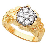 Men's Cluster Ring Mounting