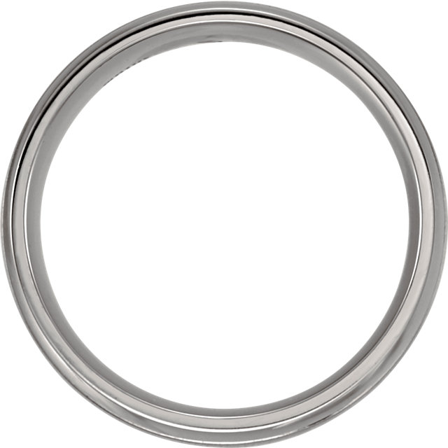 Titanium 8mm Band Size 10
