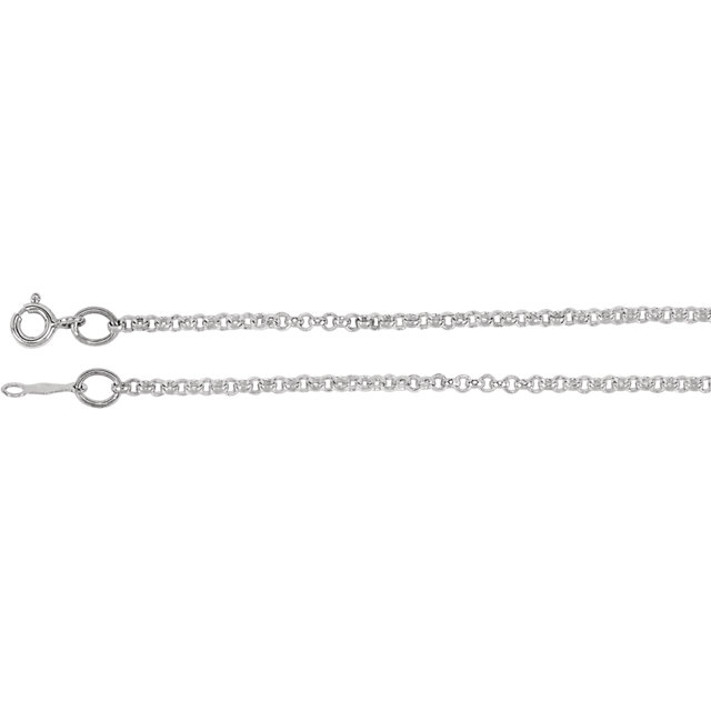Sterling Silver 2mm Rolo 16