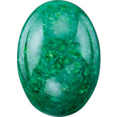 Oval Genuine Jadeite Jade