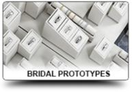 Prototype Bridal Selling Solution Displays