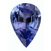 Pear Genuine Tanzanite (Black Box)