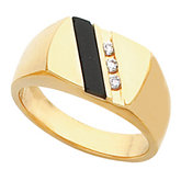 Men's Ring Mounting for Onyx