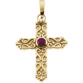 Ruby Star Cross