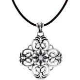 Filigree Design Pendant or Necklace