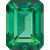 Emerald/Octagon SWAROVSKI GEMSTONES™ Genuine Rainforest Topaz
