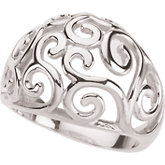 Scroll Fashion Ring