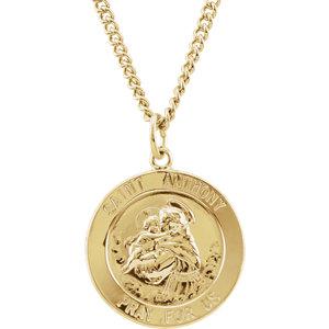 St. Anthony Medal Necklace
