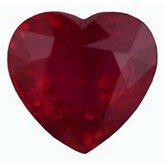 Heart Genuine Ruby (Black Box)