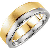 6mm Two-Tone Duo Band