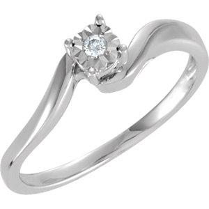 Diamond Illusion Engagement Ring or Matching Enhancer