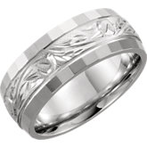 Hand-Engraved Band