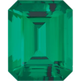 Emerald/Octagon Lab Created Emerald