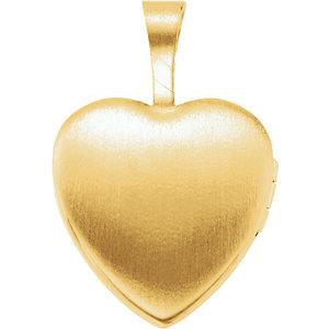 Primera Communion Heart Locket