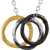 Fashion Multi-Circle Necklace
