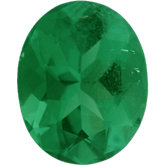 Oval Genuine Emerald (Black Box)