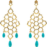 Missoma® Gemstone Chandelier Earrings