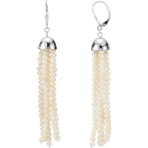 Freshwater Aultured Pearl<br> Earrings