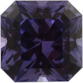 Asscher Cut Princess Genuine Purple Sapphire (Black Box)