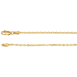 Diamond-Cut Cable Chain 2mm