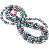 Freshwater Cultured Dyed Pearl Necklace