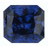 Modified Square Genuine Blue Sapphire (Black Box Matched Sets)