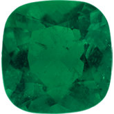 Antique Square Genuine Emerald (Black Box)