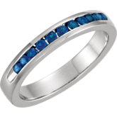 Gemstone or Diamond 11-Stone Anniversary Band
