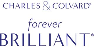 Forever Brilliant® Created by Charles & Colvard logo