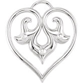 Heart Design Dangle
