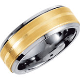 Dura Tungsten™ Band with Satin Finish