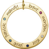 Posh Mommy® Engravable Forever Loop
