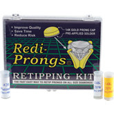 Redi-Prongs® 14K Round Retipping Kit