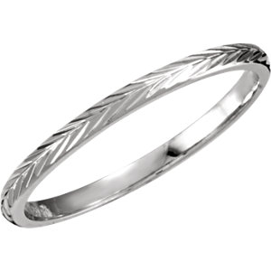 Hand-Engraved 2mm Comfort Fit Band