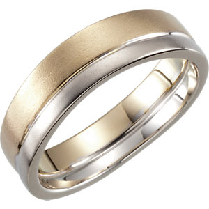 Two-Tone 6mm Band