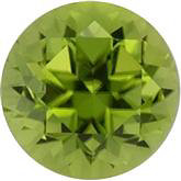 Peridot Genuine Machine-Cut