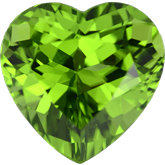 Heart Genuine Peridot (Black Box)