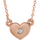 Diamond Heart Necklace or Mounting
