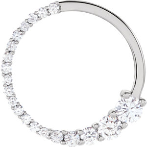 Journey Diamond Circle Pendant