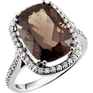 Rectangular Cut Diamond rings